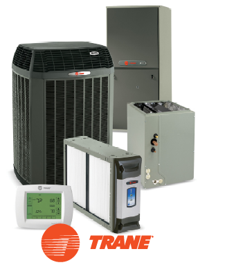 trane heating and cooling air temp control